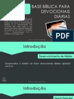 eBook - Base Bíblica Para Devocionais Diárias_2018