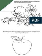 Cuento con imágenes sobre frutas y verduras.docx
