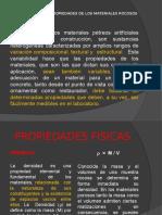 DETERMINACIÓN DE PROPIEDADES DE LOS MATERIALES ROCOSOS
