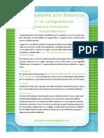 Orientamento alla didattica per le competenze