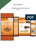 Etiquetado Del Brownie de Quinua