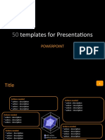 50 Templates for Presentations