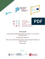 EaP Forum Agenda November