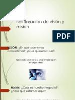 Visión visión, Oportunidades amenazas.pptx