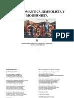 LÍRICA ROMÁNTICA, SIMBOLISTA Y MODERNISTA
