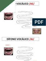 Dífonos Vocálicos Camino