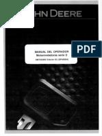 John Deere Manual Del Operador Motoniveladoras Serie 770 D