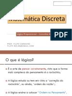 01 - Lógica Proposicional