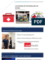 innovative applications of technology in emergency medicine