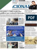 El Nacional, edición del martes 13 de noviembre de 2018