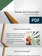 Direito Do Consumidor para publicidade