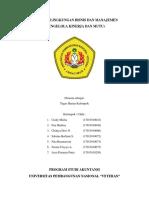 Sampul Makalah Lingkungan Bisnis Dan Manajemen Bab 13