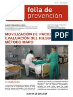 Manipulacixn Manual de Pacientes. Mxtodo MAPO Def Castelxn