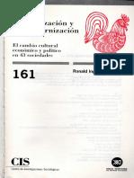 Ronald Inglehart - Modernización y Postmodernización c2