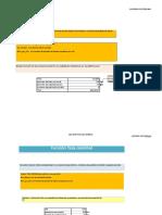 Tasas Equivalentes en Excel