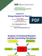 Reactor Energy Balance