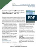 Coastal Zone Dynamics Report in Brief