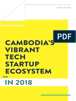 Cambodia's Vibrant Tech Startup Ecosystem in 2018
