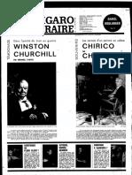 Chirico Par Chirico- Les Carnets d'Un Peintre en Colère Le Figaro Littéraire