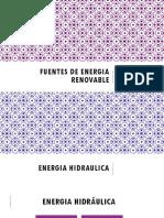 5. Fuentes de Energia Renovable