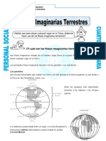 Ficha Lineas Imaginarias de La Tierra Para Cuarto de Primaria