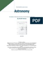 GA 323 Astronomy - Rudolf Steiner