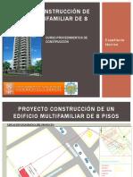 Construccion de Un Edificio 8 Pisos. 1ra Parte