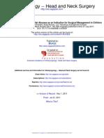 OTO 11 2011 Dimension of Subperiosteal Orbital