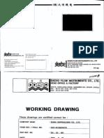 Maker Working Drawings for Visco Meter Installation
