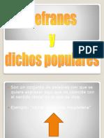 Dichos y Refranes chilenos