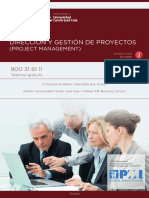 Media 1401 PDF Programa Curso Master Project Management