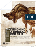 Designing a Dino for Film