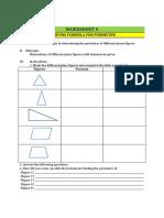 NTOT Worksheet No 4 Measurement