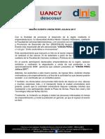 Nota de Prensa Vision Peru