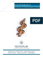 AUSTROPLAN Plants for the Production of Disposable Medical Devices a Pharmaceutical Products