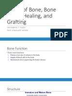 Basics of Bone, Bone Injury, Healing