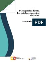 2016-MAN Bioseguridad Para Establecimientos de Salud