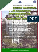 Programa del congreso nacional de la sociedad médica del 20 de noviembre