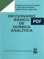 DiccionaDiccionario basico de quimica analiticario