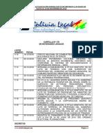 Actualizacion Normativa al 06 de Noviembre de 2018