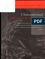 Chateaubriand - Memorias de ultratumba - Libro 01 [ed. El Acantilado].pdf