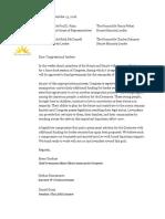 Dreamers Coalition Letter 11/13/18