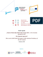 EaP Forum Agenda