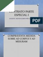 Compraventa Ad Corpus y Ad Mensuram