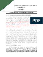 Ley de La Retribución o Ley de La Siembra y La Cosecha