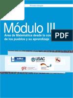 Módulo III Área de Matemática Desde La Cosmovisión de Los Pueblos y Su Aprendizaje-converted