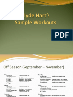 Hart Sample Workouts