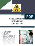 PORTAFOLIO DE SERVICIOS GRUPO IPE.pptx
