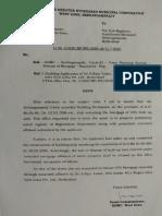 GHMC Occupancy Certificate Pg 1