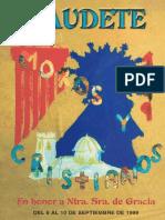 Programa de Fiestas de 1999